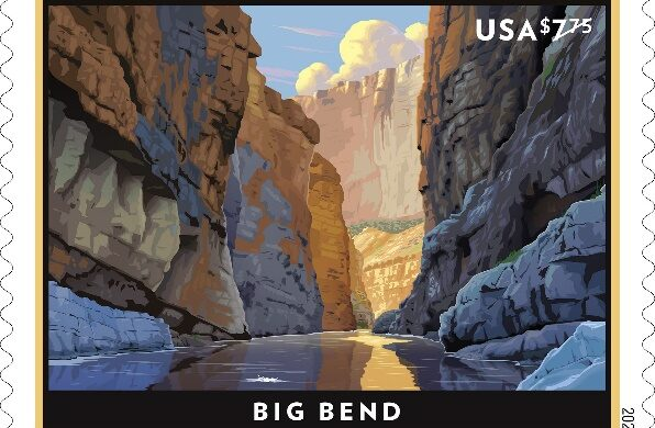 Big Bend priority stamp