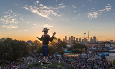 2021 State Fair of Texas Drew Crowds