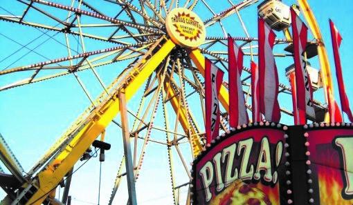 Bluebonnet Festival Carnival Ride