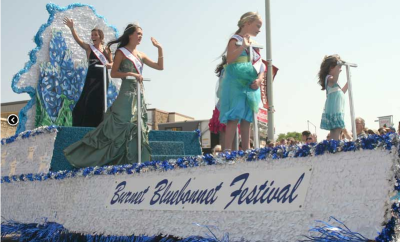 Bluebonnet Festival Float