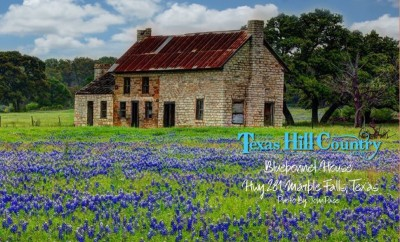 Bluebonnet House Texas Hill Country