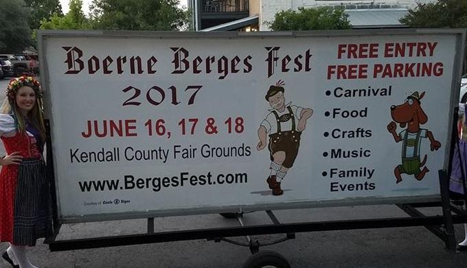 Summer Festivals Boerne Berges Fest