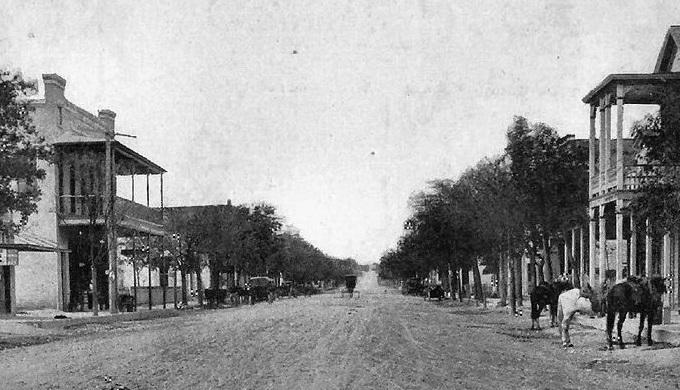 Boerne Main Street circa 1890s