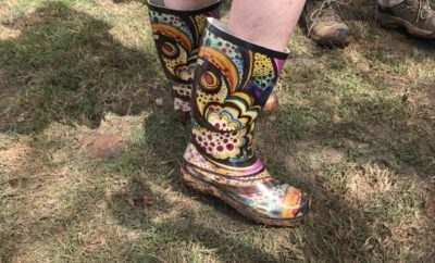 Boot Boots at Texas Wine Revolution