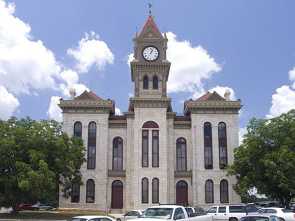 Bosque County Courthouse - Meridian