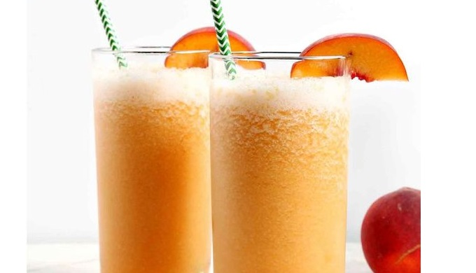 Bourbon Peach Slush Cocktails Speckled Palate