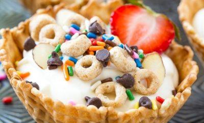 Kid-Friendly Recipes Breakfast sundaes