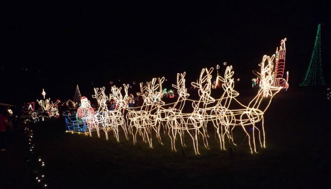 Marble Falls Christmas Lights.Bring Out Your Inner Child At Marble Falls Walkway Of Lights