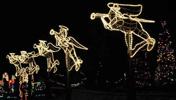 Bring out Your Inner Child at Marble Falls' Walkway of Lights