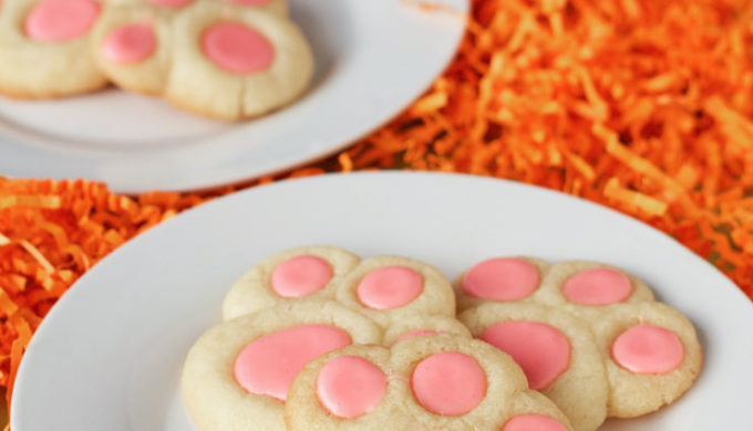 Bunny Paw Cookie
