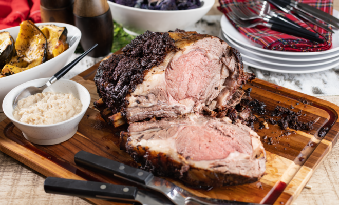 Prime Rib Made Easy, Thanks to Beef Loving Texans