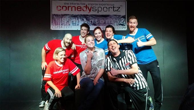 Comedy Played as a Sport!