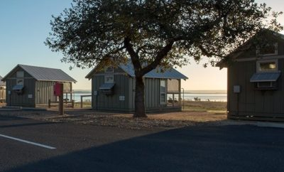 Cabins at Black Rock Park on Lake Buchanan