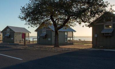 Cabins at Black Rock Park on Lake Buchanan