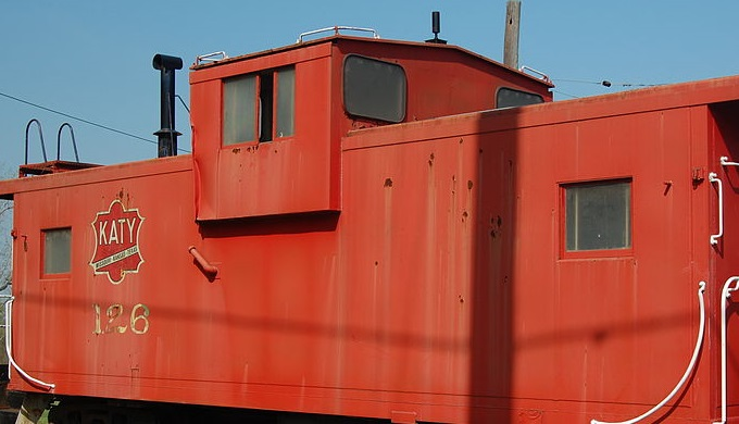 Caboose from the Katy Railroad