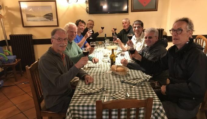 Pilgrim Meal at Cizar Menor