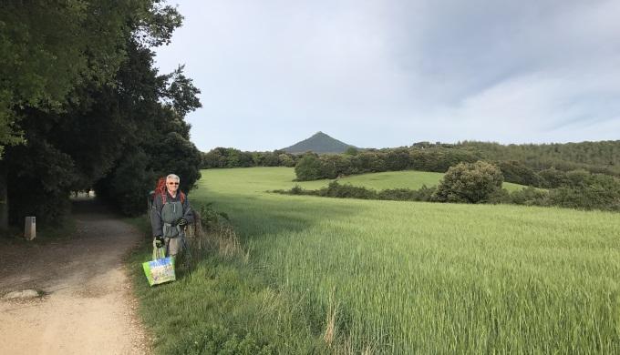 Otto on the Camino
