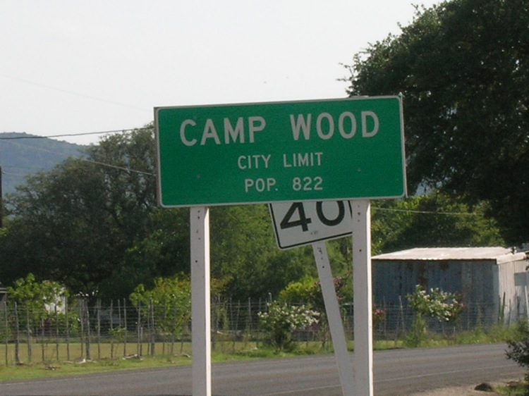 Camp Wood Az Elevation : Camp wood texas hill country