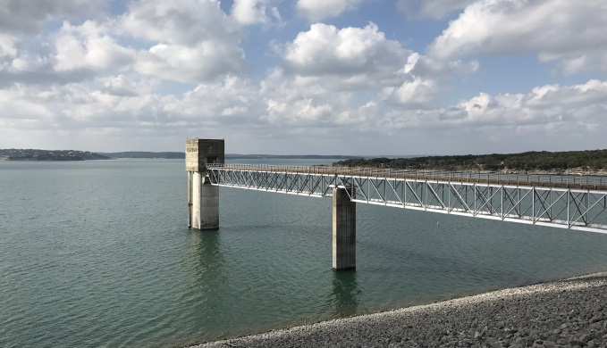 Canyon Lake Dam Intake