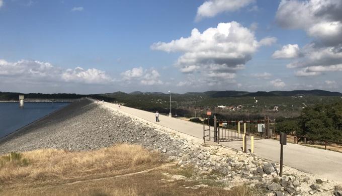 Canyon Lake Dam Walkway