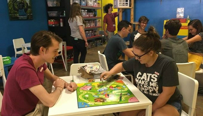 A Cat Cafe Has Opened in San Marcos and It's the 'Cat's Pajamas'