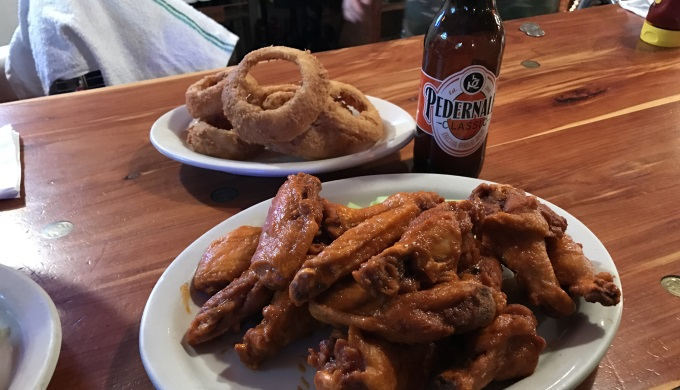 Wing Wednesday at Buffalo Nickel