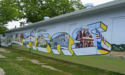 Checking out the murals should be among the must-do Lampasas activities in the area