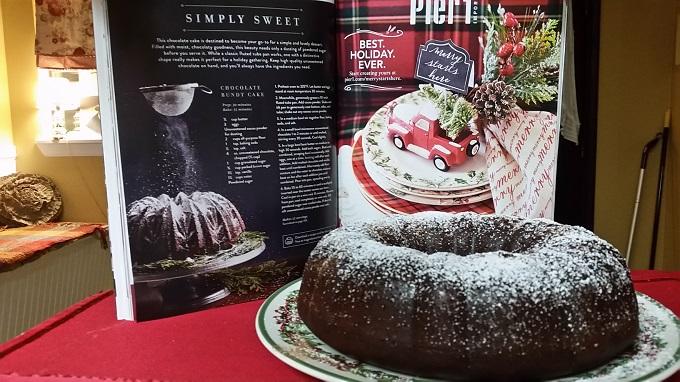 Chocolate Bundt Cake-Magnolia