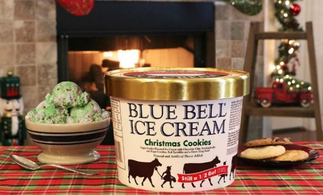 Blue Bell Christmas Cookies Ice Cream Is Sold Out Until Next Year