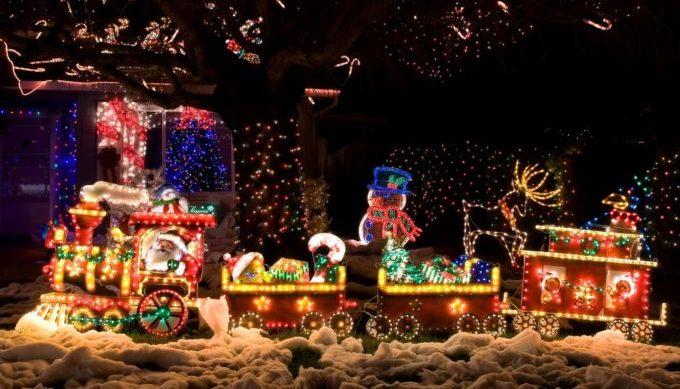 Christmas Light Festival, Boerne, Texas Hill Country