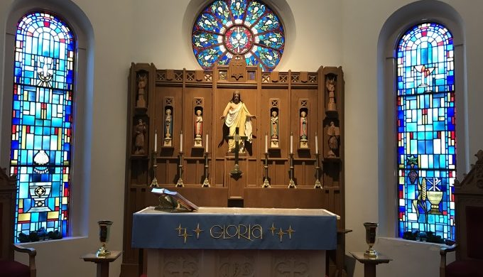 Zion Lutheran Church Altar