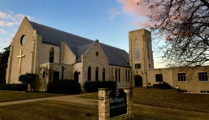 Bethany Lutheran Church Fredericksburg Texas