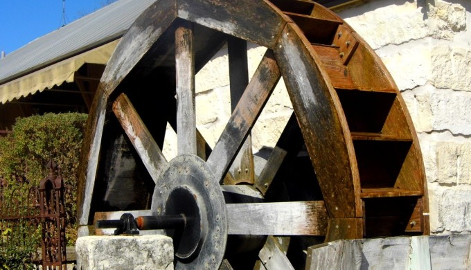 Cibolo Creek Water Wheel