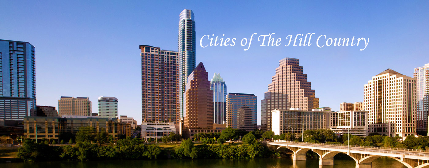 Cities In The Texas Hill Country