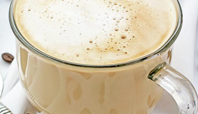 Coffee drinks Vanilla Caramel Latte