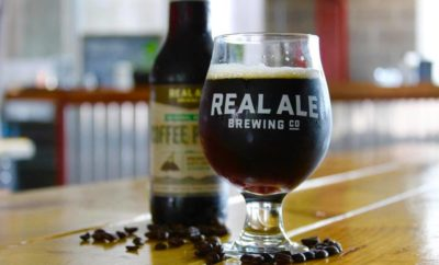 Coffee porter from Real Ale Brewing Company is among the fall beers from Texas Hill Country Brewers