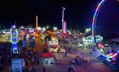 Comal County Fair carnival
