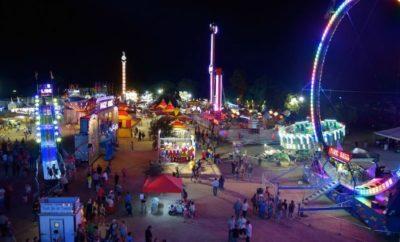 Comal County Fair carnival