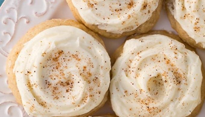 Cookie Recipes Eggnog Cookies
