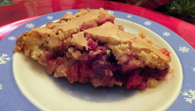 Cranberry Breakfast Pie