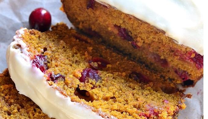 Cranberry recipes pumpkin cranberry bread
