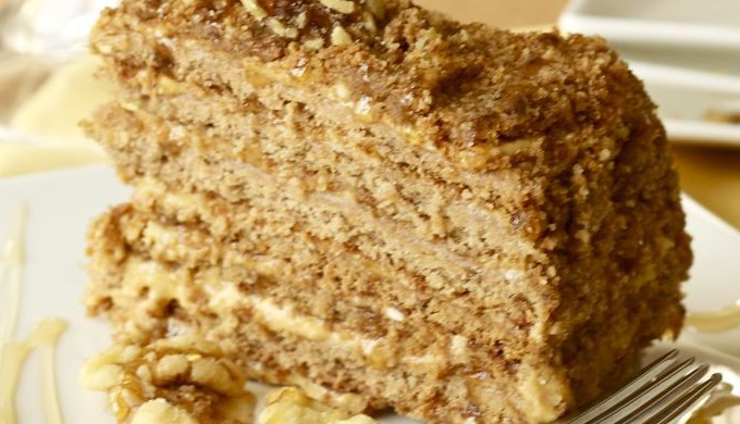 Czech Recipes Honey Cake