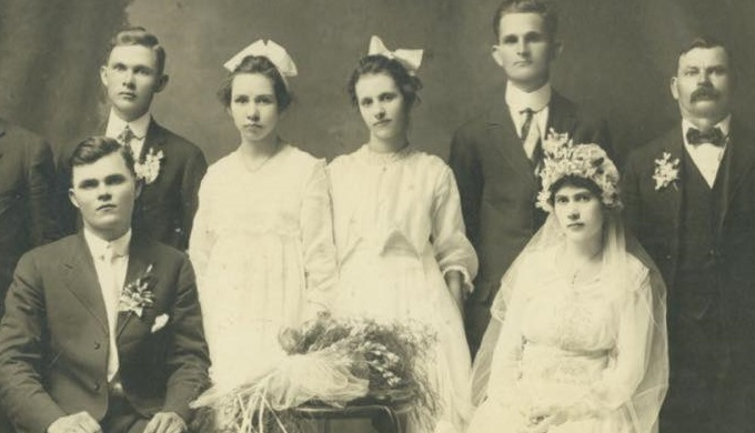 Czech Wedding in the Texas Hill Country 1917