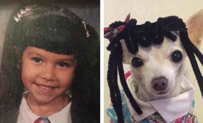 Waxahachie Woman Pulls Joke on Mom Exchanging Family Photos With Pictures of Her Dog