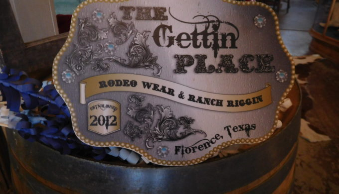 Where Do You Get Beautiful Leatherwork? At The Gettin' Place
