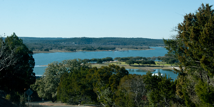 Lake Travis in Lago Vista