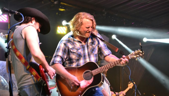 William Clark Green live on stage at Floore's Country Store
