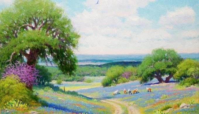 Dane Ellsworth Hill Country Landscape
