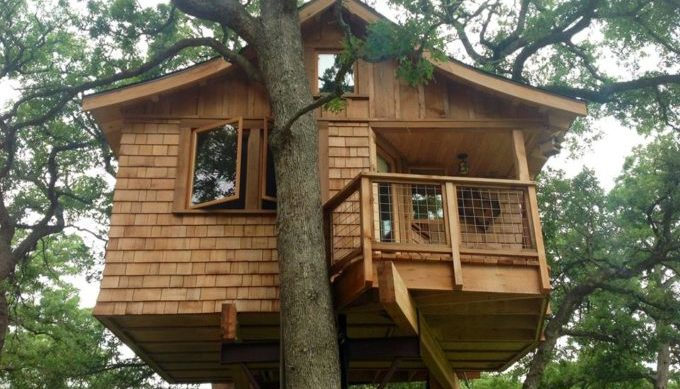 tree houses, hill country, davis ranch