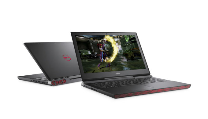 The new Inspiron 15 7000 Gaming laptop delivers speedy performance and smooth gameplay at an approachable price. (PRNewsfoto/Dell)